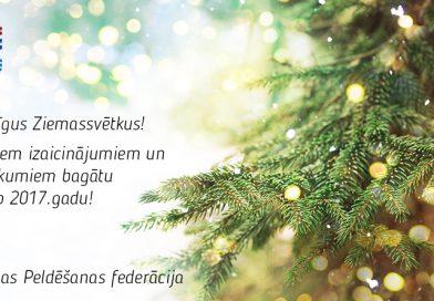 LPF sveic Ziemassvētkos