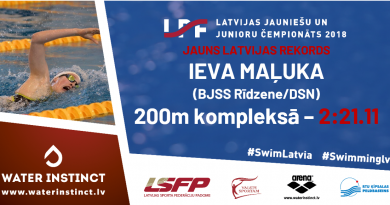 Junioru čempionātā pirmajā dienā Maļuka labo 24 gadus senu rekordu