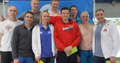Rezultāti – III Latvijas Čempionāts peldēšanā vecmeistariem un tautas klasē