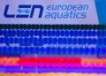 Picture by Allan McKenzie/SWpix.com - 03/08/2018 - Swimming - Glasgow 2018 European Championships - Tollcross International Swimming Centre, Glasgow, Scotland - LEN, branding.